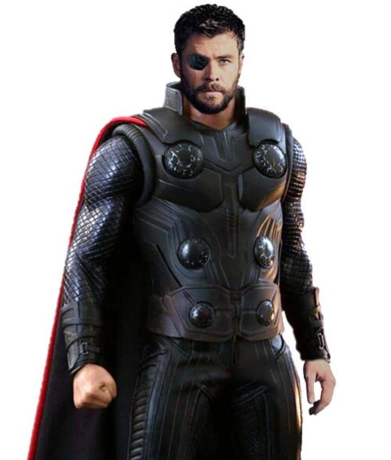 Avengers Infinity War Thor (Chris Hemsworth) Costume Leather Vest