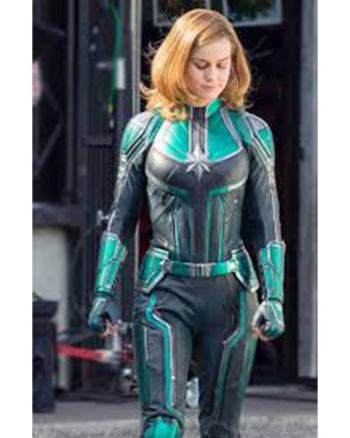 Captain Marvel Brie Larson Starforce Jacket