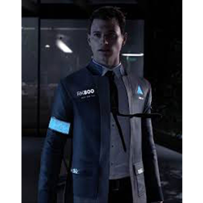 Detroit Game Become Human Connor Coat Cosplay Costume