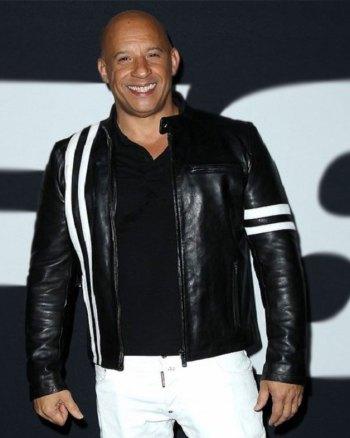 Vin Diesel Fast and Furious 8 Premiere Jacket