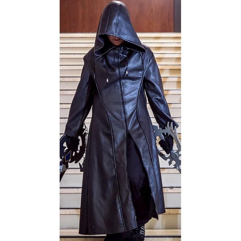 Kingdom Hearts Organization Xiii Enigma Trench Coat