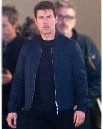 Tom Cruise Mission Impossible Leather Fallout Jacket