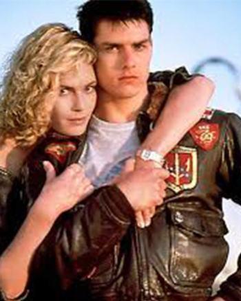 Tom Cruise Top Gun Leather Jacket