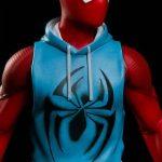 The Scarlet Spider- Inspired - Sleeveless Lt Blue hooded shirt