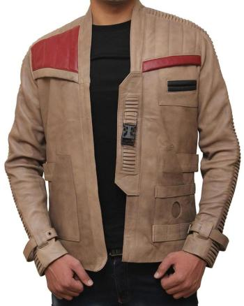 Arrivals Men's Poe Dameron Costume – Star Wars Finn Leather Jacket