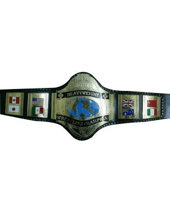 Hulk Hogan 86 Heavyweight Wrestling Championship Belt
