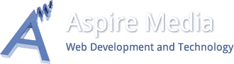 Aspire Media web development and technology