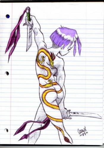 Dragon Tat Girl