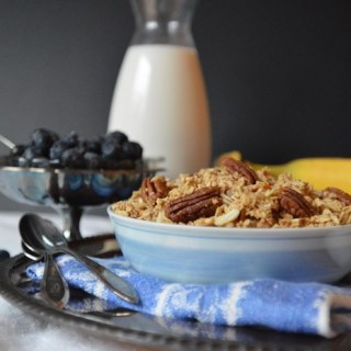 Maple Oat Crisp Cereal