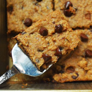 Grain Free Chocolate Chip Blondies