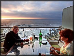 vina del mar our on the deck