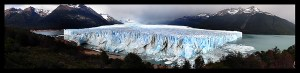 perito moreno glacier panoramic photo