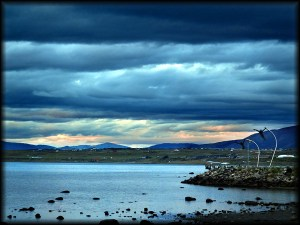 puerto natales sunset photo