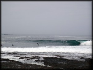 Iquique wave barrel photo