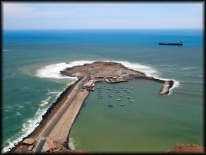 el buey surf island aerial view photo
