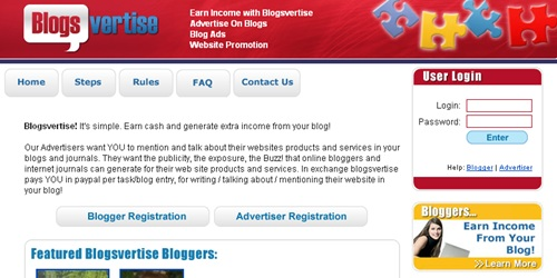 Blogsvertise