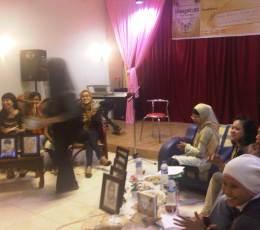 Nilam Indahsari, Aslan Abidin, Shinta Febriani dan Moderator A. Gadis Kinanti