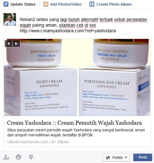 Status Facebook Yashodara