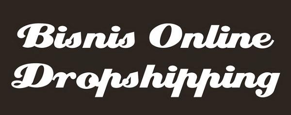 Bisnis Online Metode Drop Shipping