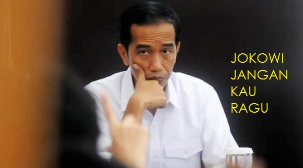 Video Lagu Jokowi Jangan Kau Ragu