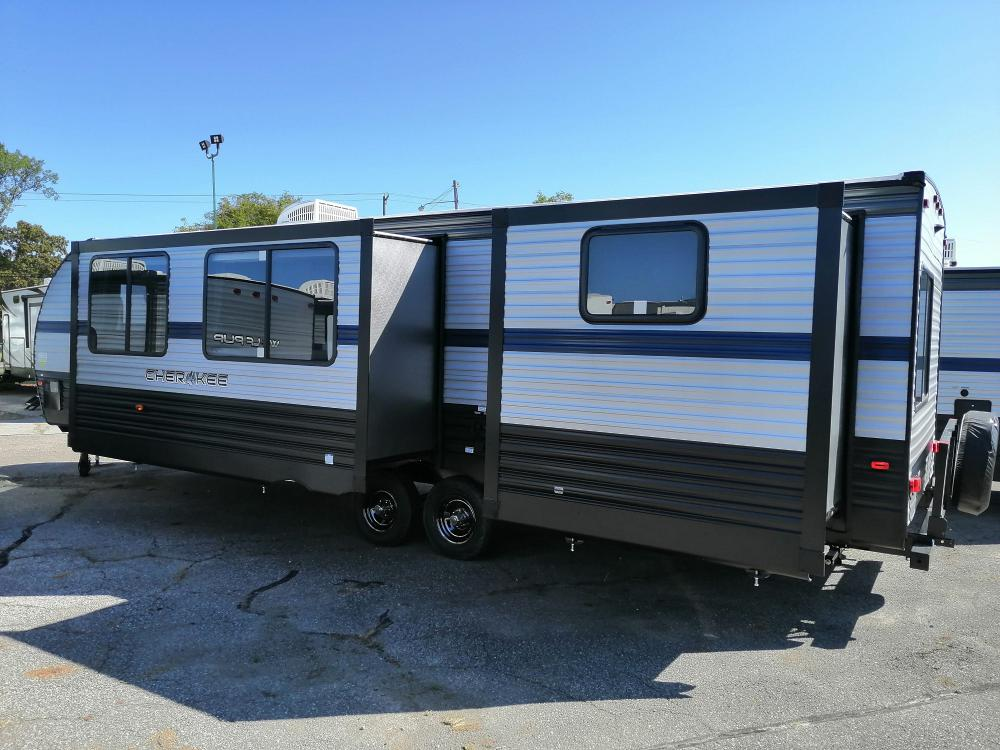 Cherokee 294bh Bunkhouse Travel Trailer With Outside ...