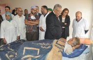 عبد الفتاح اليجيوي يتفقد ضحايا حادث واد القصب بمراكش