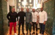 البطل العالمي 'أبو زعيتر' وأشقائه على مائدة الإفطار مع الملك محمد السادس !