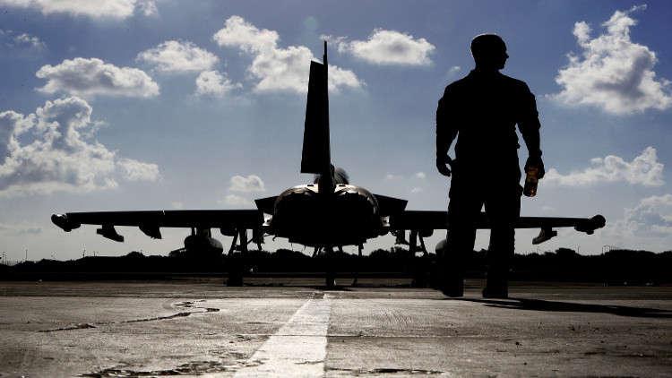 """بريطانية تؤمن المجال الجوي القطري بمقاتلات """"التايفون"""""""