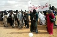 بالفيديو: الرصاص يلعلع بمخيمات تندوف