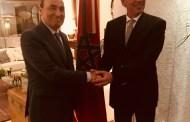 المالكي يعقد جلسة عمل مع رئيس برلمان السوق المشتركة لدول أمريكا الجنوبية