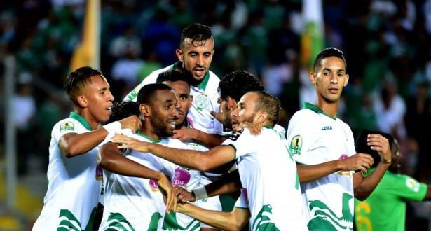 الرجاء يعود بفوز ثمين من قلب نيجيريا ويضع قدما في نهائي كأس الإتحاد الإفريقي