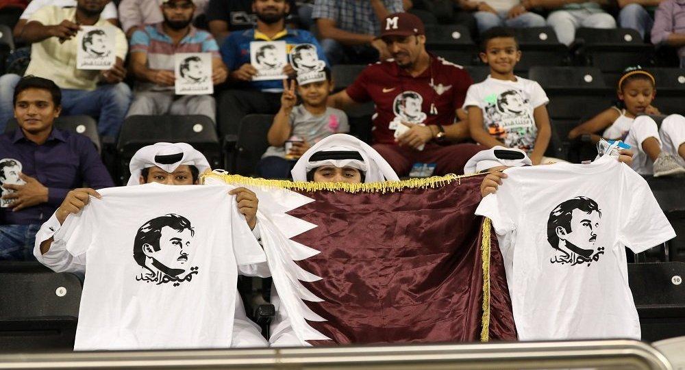 أمير قطر يعلق على فوز منتخب بلاده بعد الفوز بكأس آسيا 2019