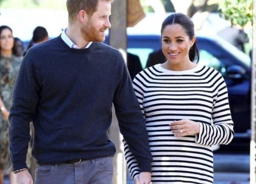 الأمير هاري وزوجته ميغان يلتقيان الملك محمد السادس