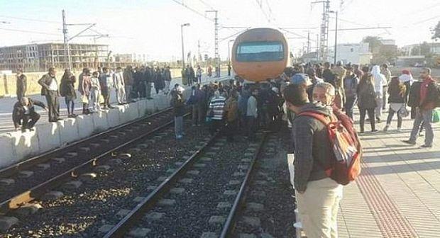 قطار يتسبب في بتر يد شخص ضواحي القنيطرة