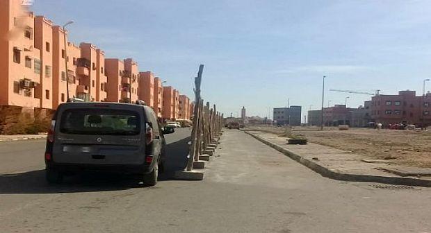 مراكش: منعش عقاري يحتل الشارع العام والسلطات في دار غفلون