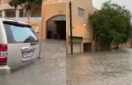 بالفيديو: أمطار الخير تغرق البحرين