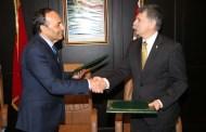 المالكي ورئيس الجمعية الوطنية لهنغاريا يثمنان المنحى التصاعدي للعلاقات بين البلدين