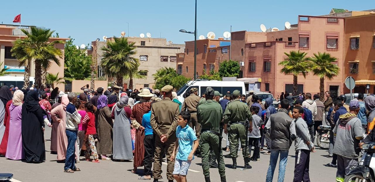 مراكش.. انقطاع الكهرباء يُخرج الساكنة للاحتجاج
