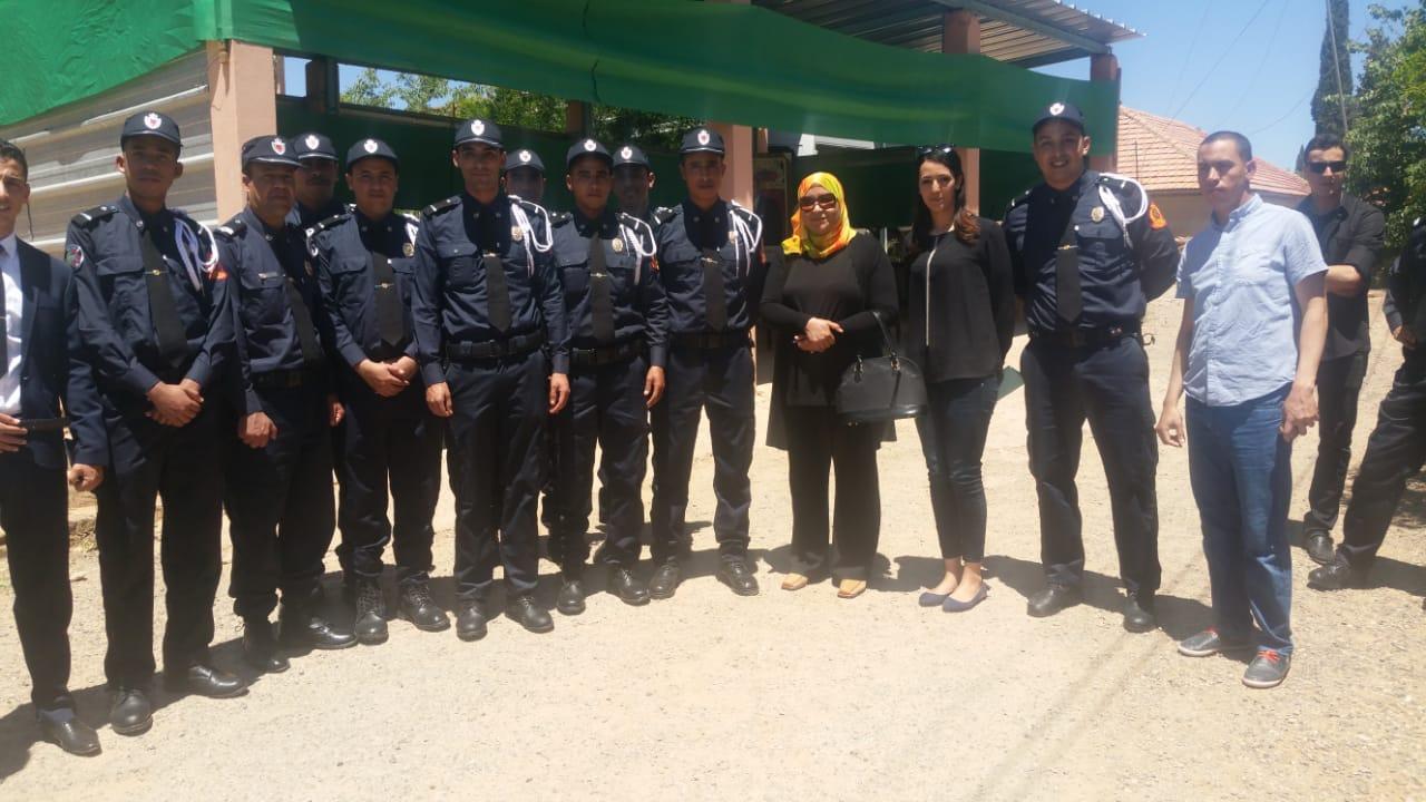 جرادة: مفوضية الشرطة بتويسيت سيدي بوبكر تحتفي بالذكرى 63 لتأسيس الأمن الوطني