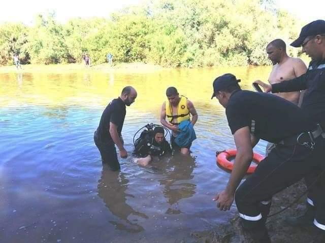 انتشال جثة تلميذ غرق في مياه نهر أم الربيع بإقليم الفقيه بن صالح
