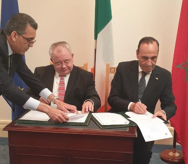 الحبيب المالكي يوقع مذكرة تفاهم مع نظيره الأيرلندي ويلتقي وزراء من الحكومة الإيرلندية