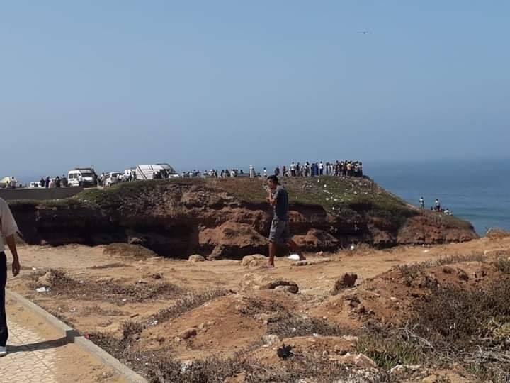 سلا : وفاة شخصين إثر سقوط سيارة في البحر