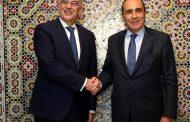 رئيس مجلس النواب يتباحث مع وزير الخارجية اليوناني