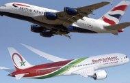 تقاسم الرمز المشترك بين الخطوط الملكية المغربية و الخطوط الجوية البريطانية