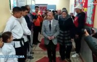 إفتتاح فضاء رياضي للقرب بدار الشباب لعيايدة بسلا