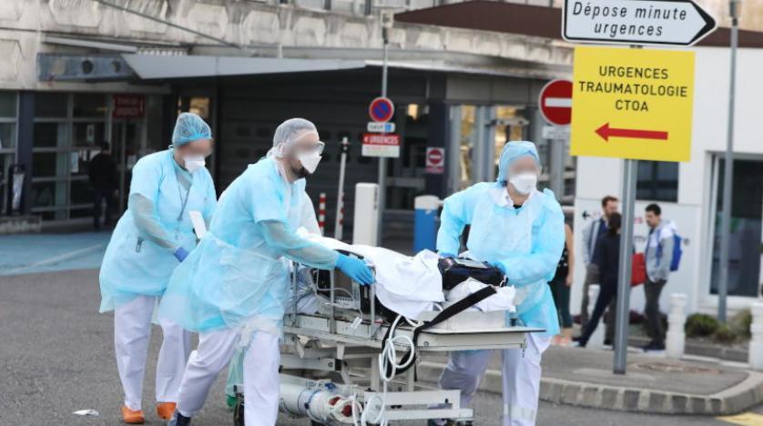 كورونا فرنسا .. 30 ألف حالة اصابة في 24 ساعة