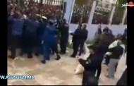 جائحة كورونا .. قربلة في الجزائر بسبب المساعدات الغذائية