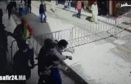 فيديو يظهر لحظة اعتداء عناصر القوات المساعدة على نائب وكيل الملك بطنجة