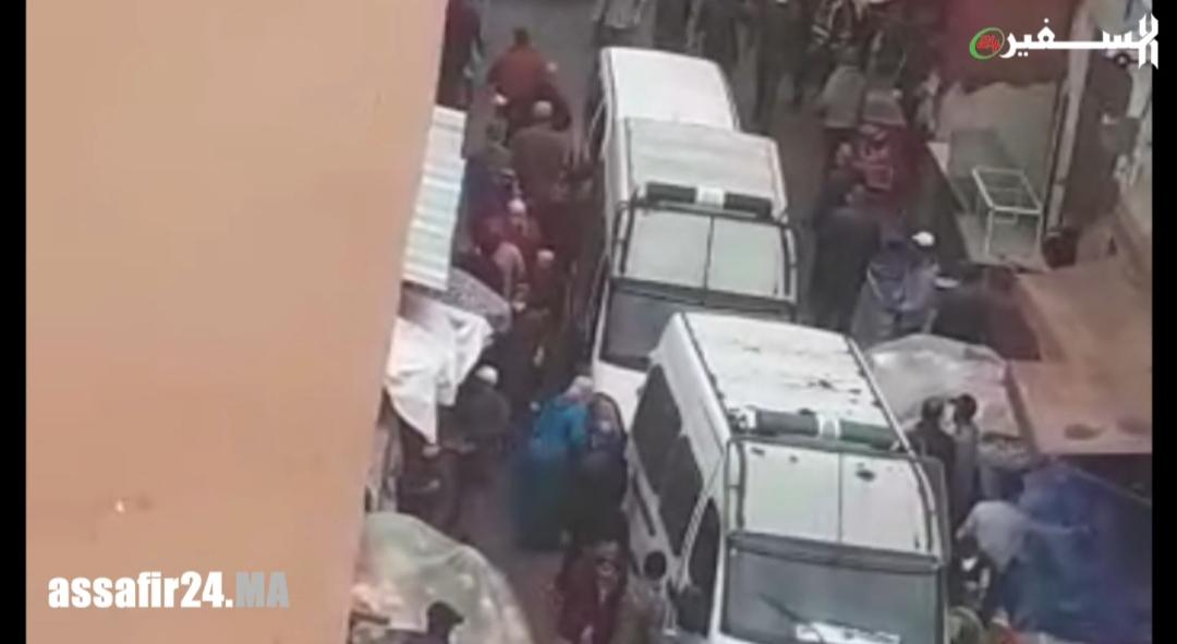 شوفو كيفاش كان الوضع ديال حي بوسبير بالبيضاء قبل قرار الإغلاق