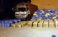 كلميم .. حجز ثلاثة أطنان من مخدر الشيرا على متن شاحنة للنقل الطرقي للبضائع
